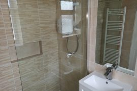 Wetroom completed In Woodpark, Ballinteer